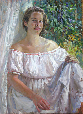 Painting - Katerine by Korobkin Anatoly