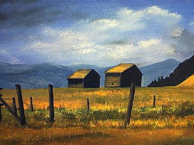 Painting - Kila Barns by Deahn      Benware