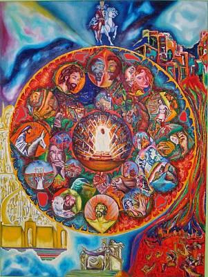 Life Of Christ Art Print by Kennedy Paizs
