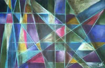 Light Patterns 2 Art Print