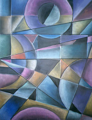 Light Patterns Art Print