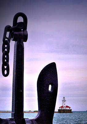 Photograph - Lighthouse Anchored by Emily Stauring
