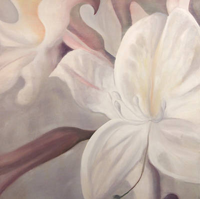 Painting - Lily Treasure by Karen Hurst
