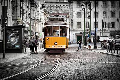 Photograph - Lisboa Tram II by Stefan Nielsen