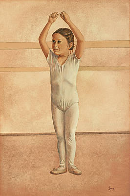 Painting - Little Dancer by Laurie Stewart