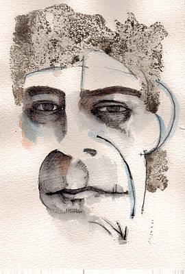 Painting - Lou Reed by Mark M  Mellon