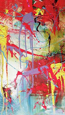 Robert Daniels Painting - Love In Space by Robert Daniels