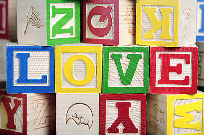 Love Art Print by Neil Overy