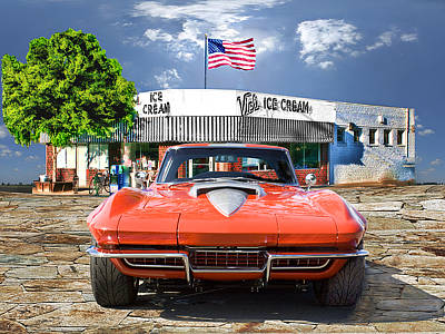 Made In The U.s.a. Art Print by Michael Cleere