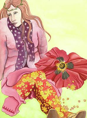 Margaret's Magic Stockings Art Print by Sheri Howe