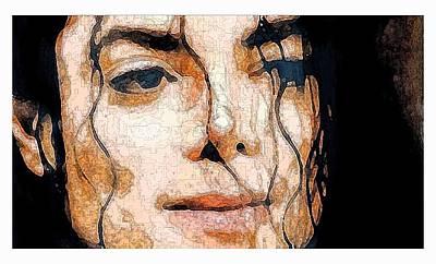 Painting - Michael Jackson by Debora Cardaci