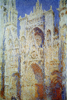 Impressionist Photograph - Monet: Rouen Cathedral by Granger