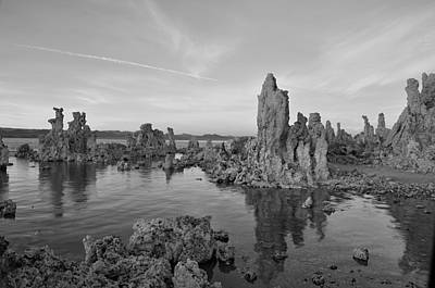 Mono Lake's Moonscape Art Print by Matt MacMillan
