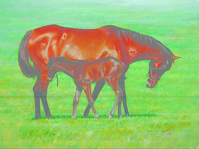Morning Sun Art Print by Linda Eades Blackburn