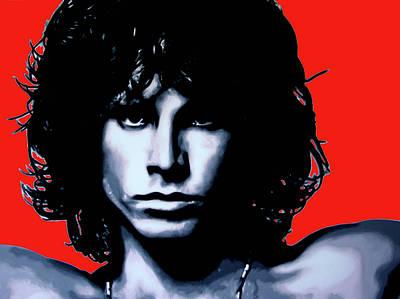 Morrison Art Print by Luis Ludzska