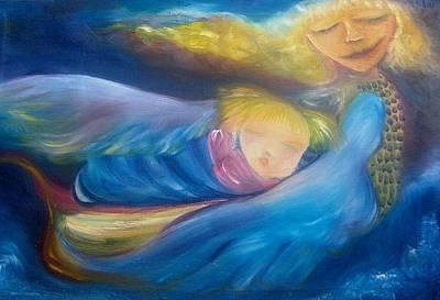 Painting - Motherhood by Michaela Kraemer