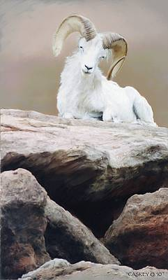 Painting - Mountain Sheep by Bethany Caskey