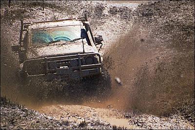 Photograph - Mud Slinger by Tim Nichols