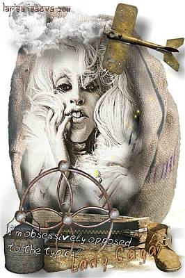 Digital Art - My Gaga by Larisa Isaeva