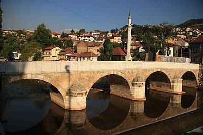 Sarajevo Photograph - Narcissic Stones by Frederic Vigne