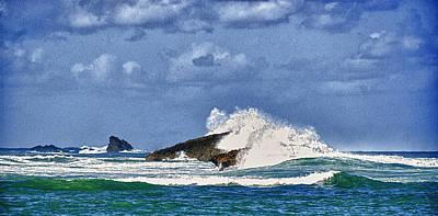 Puerto Rico Digital Art - North Coast Of Puerto Rico by Frank Feliciano