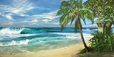 Oahu Painting - North Shore by Lisa Reinhardt