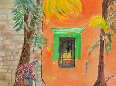 Oaxaca Mexico Church Colors Art Print by Warren Thompson