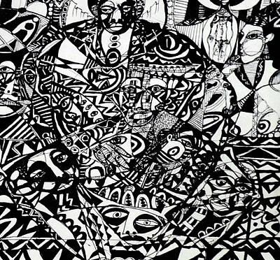 Of The Village Art Print by Robert Daniels