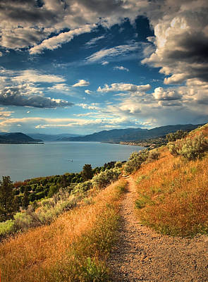 Okanagan Lake Photograph - Okanagan Summer 2 by Tara Turner