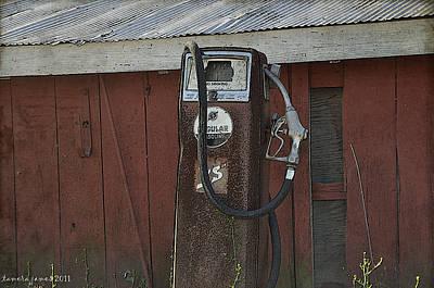 Old Farm Pump Art Print