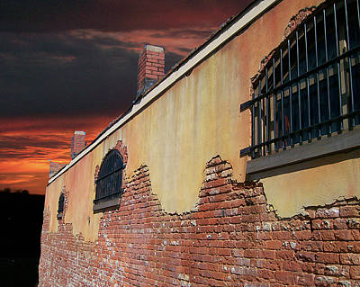 Art Print featuring the photograph Old Jail by Larry Bishop
