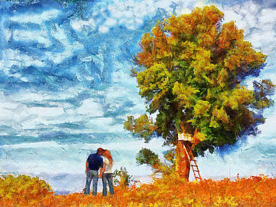 Painting - Our Favorite Place by Jai Johnson