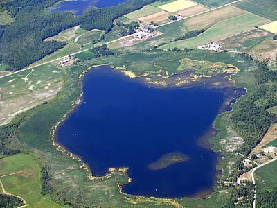 Photograph - P-003 Pensaukee Lake Shawano County Wisconsin by Bill Lang