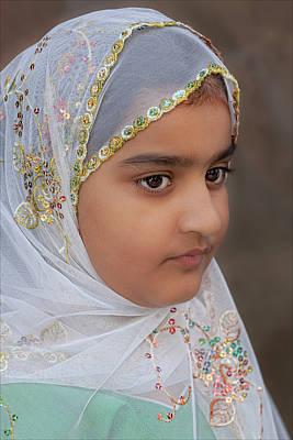 Pakistani Day Parade 7 31 11 Nyc Pakistani Girl Art Print