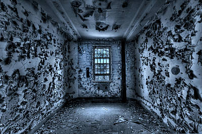 Asylum Photograph - Panic Room by Evelina Kremsdorf