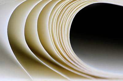 Art Print featuring the photograph Paper Curl by Pedro Cardona