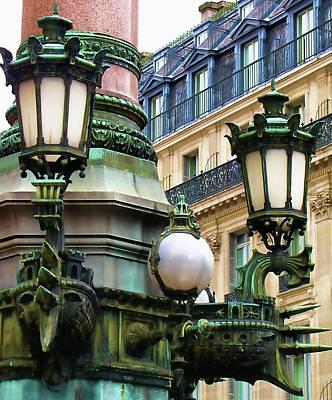 Photograph - Paris Street Corner by Tony Grider