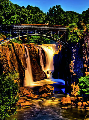 National Historic Landmark District Photograph - Paterson's Great Falls IIi by David Hahn