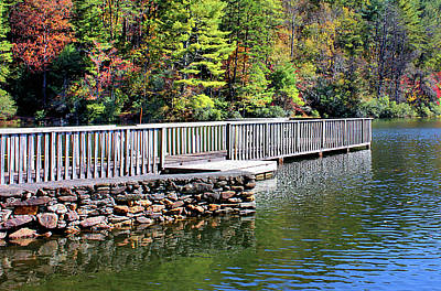 Photograph - Peaceful Pier by Kristin Elmquist