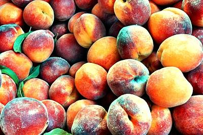 Peaches Art Print by Carlos Avila