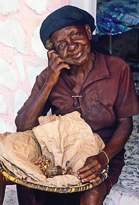 Photograph - Peanut Vendor by Johnny Sandaire