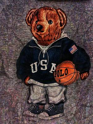 Best Sellers - Sports Royalty-Free and Rights-Managed Images - Polo Bear Sport by Eddie G