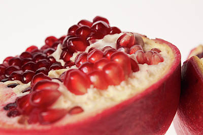 Crosses Photograph - Pomegranate by Shioguchi