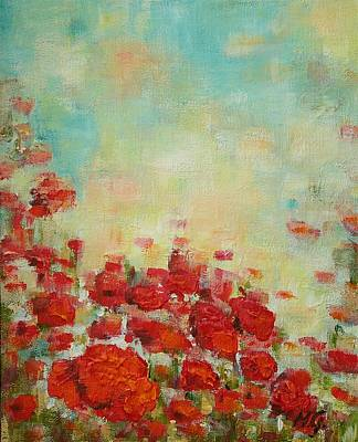 Painting - Poppies Field by Mirjana Gotovac