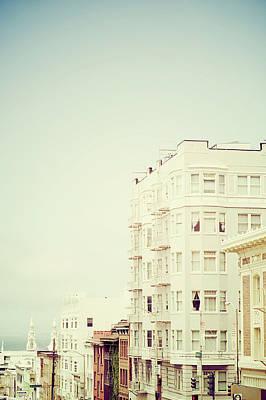 Building Exterior Photograph - Powell Street, San Francisco by Image - Natasha Maiolo
