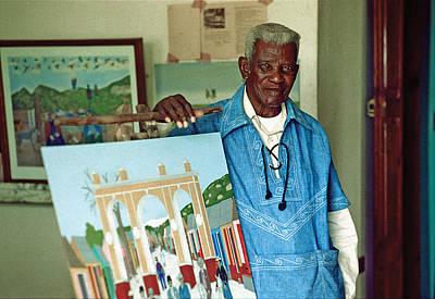 Photograph - Primitive Artist - Phiolome Obin by Johnny Sandaire