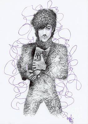 Prince Print by Wave Art