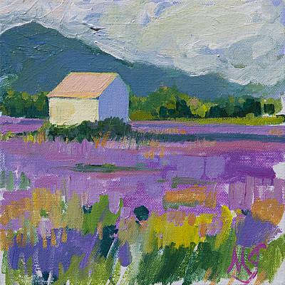 Provence Art Print by Marianne  Gargour