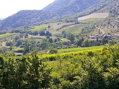 Photograph - Provence Village 1 by JK McCrea