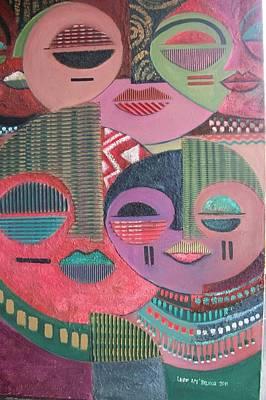 Psyche Print by Leon Salako